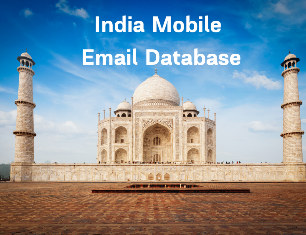 india mobile email database