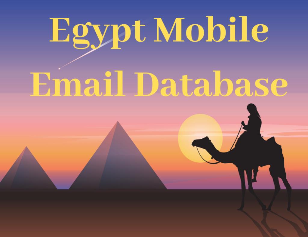 egypt email list